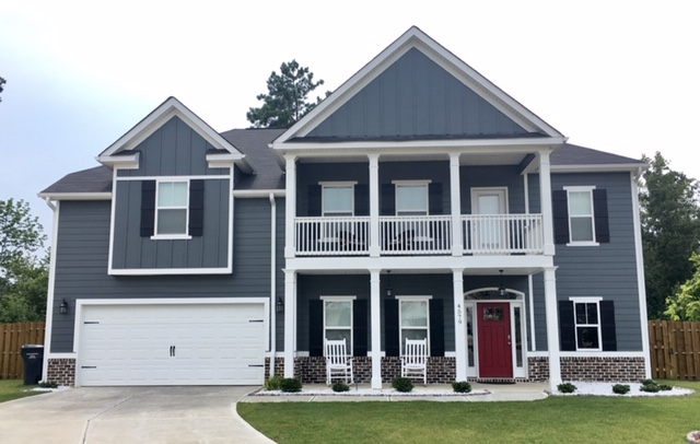 house with hardie plank siding